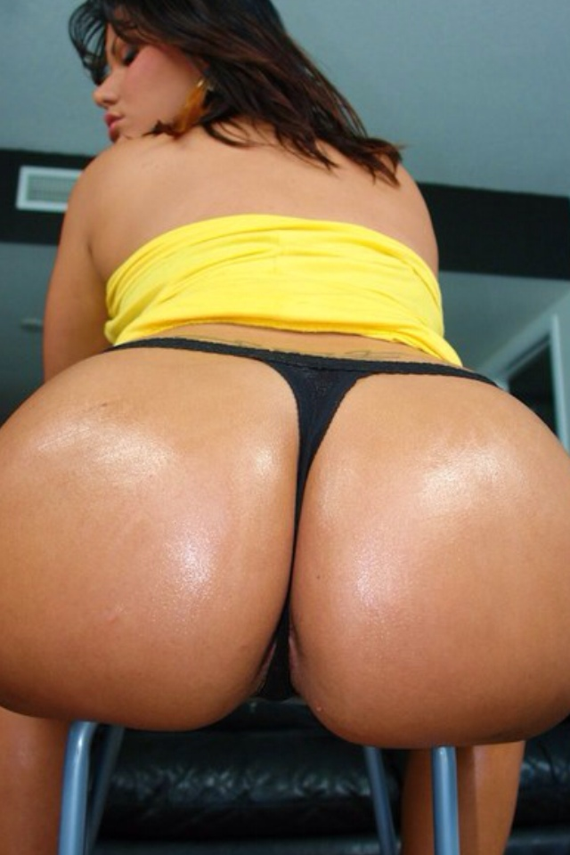 Phat ass bent over